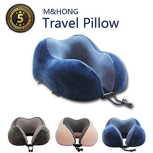 Travel Pillow Memory Foam Neck Pillow With 360 Head