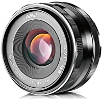 Meike 35mm F1.7 Large Aperture Manual Focus MF Fixed Lens for Olympus M4/3 Mount EM1 M M10 EP5 EPL3