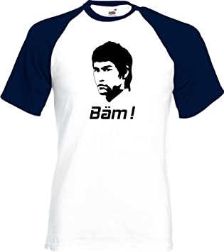 Coole Fun T Shirts BÄM ! in your FACE ! Bruce Lee t shirt