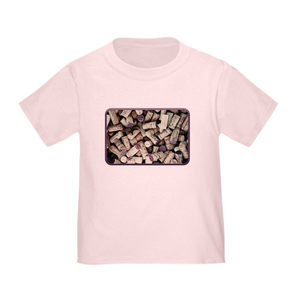 Truly Teague Toddler T-Shirt I love Wine Corks