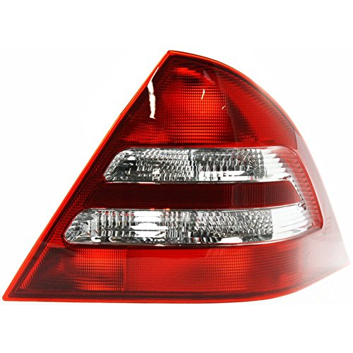 Tail Light for Mercedes Benz C-Class 01-04 Lens and Housing Sedan (203) Chassis Right Side ()