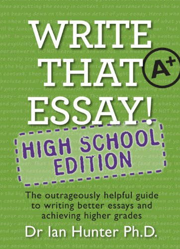 amazoncom write that essay high school edition ebook ian hunter  write that essay high school edition by hunter ian