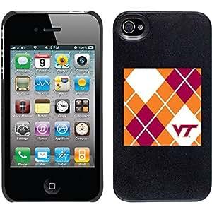 Virginia Tech - Argyle design on Black iPhone 6 4.7 Thinshield Snap-On Case