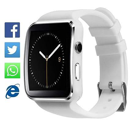 TagoBee El Reloj Inteligente Bluetooth TB01 con Tarjeta SIM es Compatible con Whatsapp Notificación Compatible con