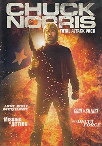 Chuck Norris: Total Attack Pack (Lone Wolf McQuade / Missing in Action / Code of Silence / The Delta Force)