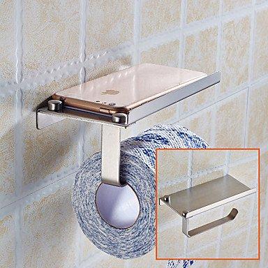 Moderno cuarto de baño – portarrollos de papel higiénico de almacenamiento de acero inoxidable baño cocina