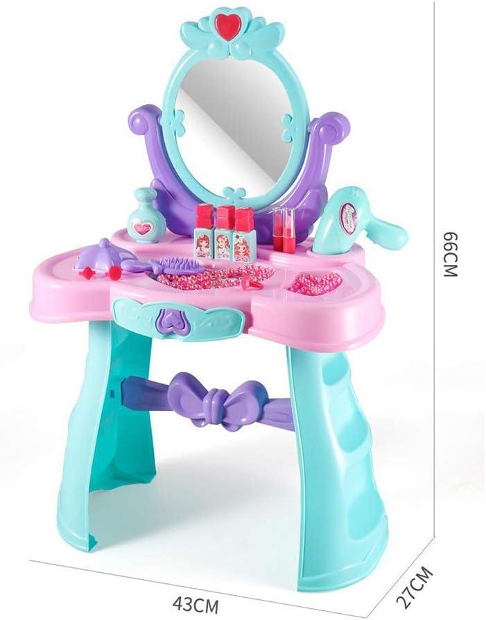 ZYLFN Fantasía niño Vanidad Belleza de la Tabla Dresser Juego de ...