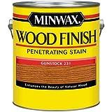 Minwax 710450000 Wood Finish Penetrating Stain, gallon, Gunstock