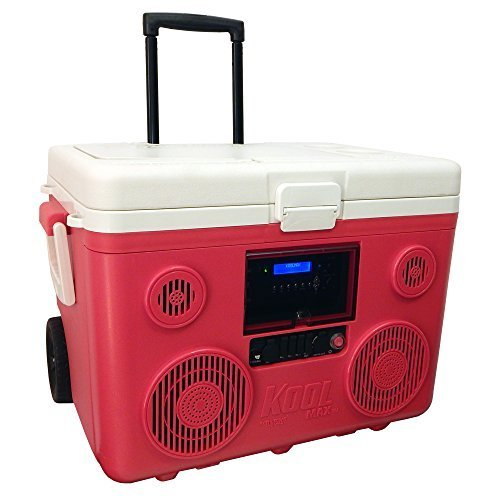 TUNES2GO CA-E065R KoolMAX Bluetooth Speaker (Red)
