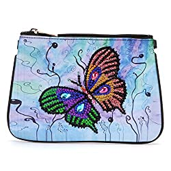 Women Cross-body Parrot Diamond Painting Wallet Bag