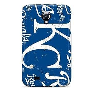 New Tpu Hard Case Premium Galaxy S4 Skin Case Cover(kansas City Royals)