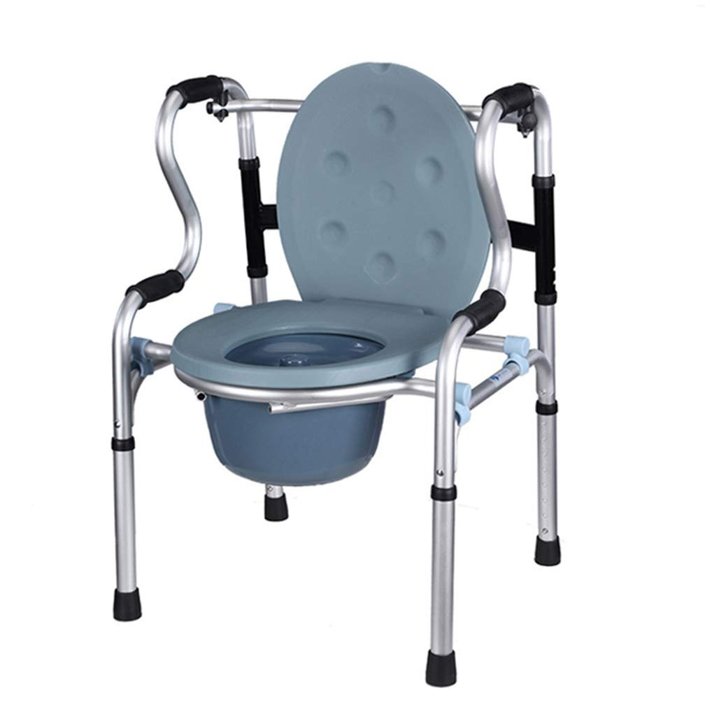【超目玉枠】 車輪付きの椅子 B07L6JZLHQ、丸いボウルとフットレスト付き高さ調節可能な車椅子、携帯用バスルームチェア、携帯用トイレ、妊婦のバスチェア A1 A1 B07L6JZLHQ, Lily and Ally:c606d5ae --- senas.4x4.lt