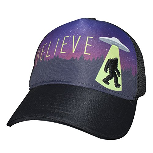 Headsweats Trucker Alien Foot 5-Panel Hat, Black, One Size