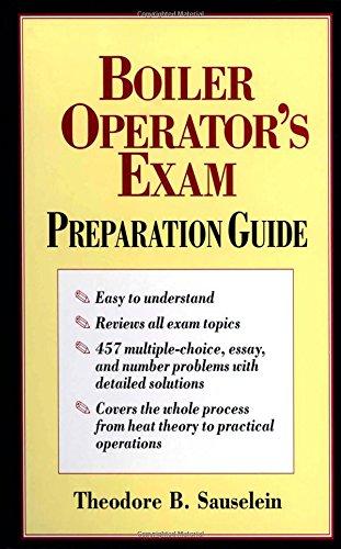 Boiler Operator's Exam Preparation Guide (Boiler Operator Books compare prices)