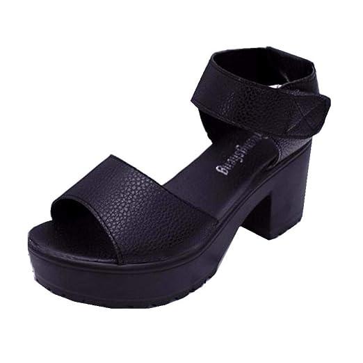 4f24ee523638b Amazon.com: Sharemen Women's Shoes Solid Color Non-Slip Sandals ...