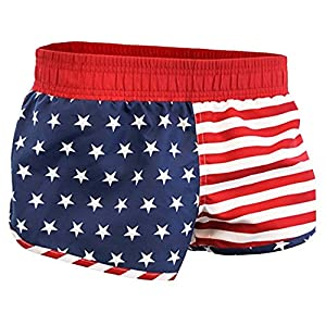 American Flag Women Printed Shorts