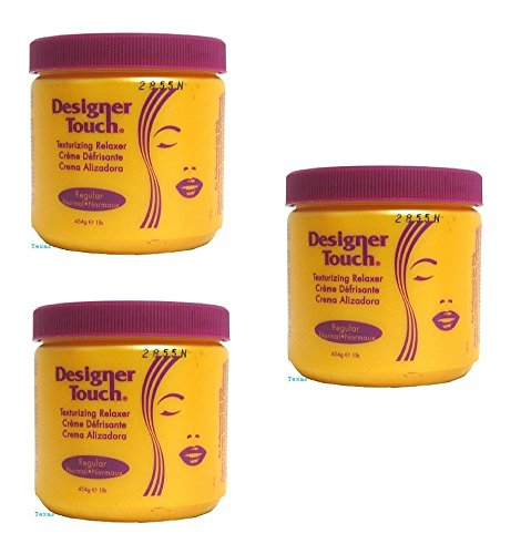 - (PACK OF 3) Designer Touch Texturizing Relaxer (REGULAR) - 1lb Jar