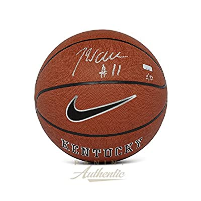 John Wall Autographed Nike University of Kentucky Replica Basketball ~Limited Edition to 22~ - Panini Authentic - Panini Certified