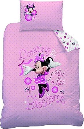Disney Minnie Maus Bettwäsche 110x140cm 100% Baumwolle ...