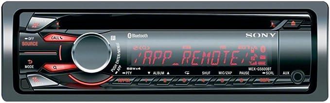 Sony Mexgs600bt Eur Highend Bluetooth Autoradio Mit App Elektronik