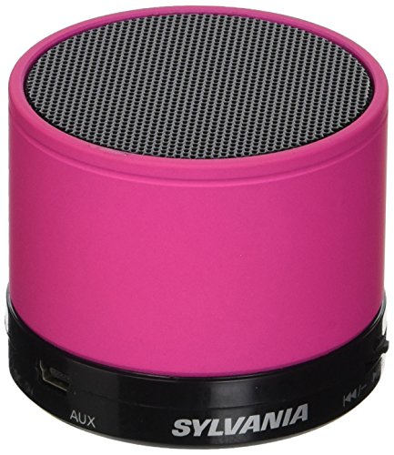 Sylvania SP631 Pink Bluetooth Rechargeable Microphone product image