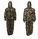 North Mountain Gear Reversible Camouflage Hunting Leafy Suit Brown / Green (XL)