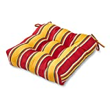 Greendale Home Fashions 20-Inch Indoor/Outdoor Chair Cushion, Carnival Stripe