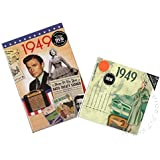 Anniversary or Birthday Gifts CD & DVD ~ Revisit The Music & News of 1949