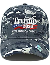 Trump 2020 Keep America Great Campaign Embroidered USA...