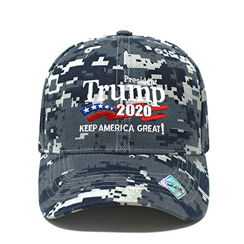 4d00c48d6f5c3c ChoKoLids Trump 2020 Keep America Great Campaign Embroidered USA Hat |  Baseball Bucket Trucker Cap (