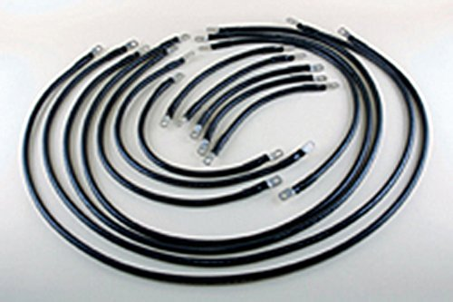 1/0 AWG Complete Cable Kit for E-Z-Go TXT, Medalist & Freedom Series 36V by EV Drives