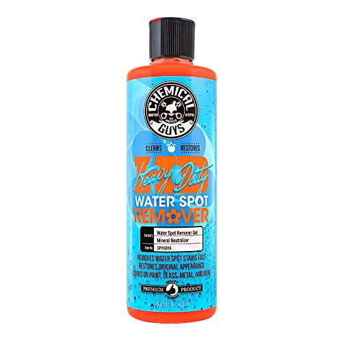 Glass Water Spot Remover - Chemical Guys SPI10816 Heavy Duty Water Spot Remover, 16 fl. oz