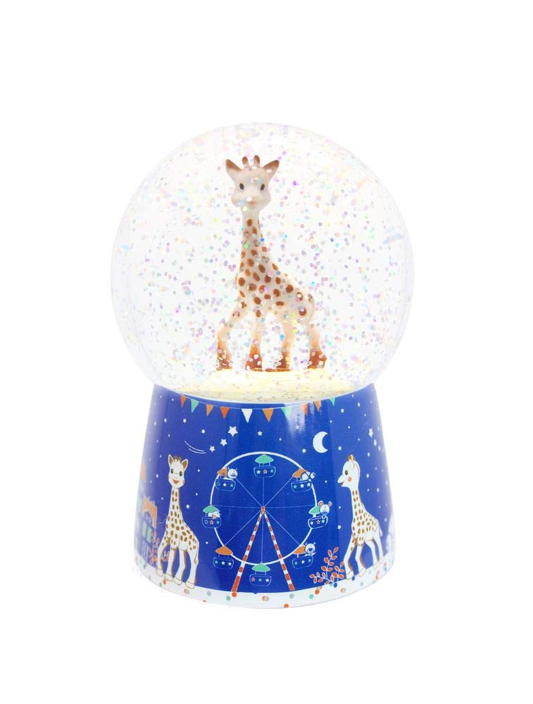 Trousselier Schneekugel mit Musik, Nachtlicht, Sophie die Giraffe B07FCSQP1Q Schneekugeln