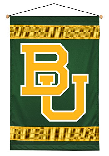 Sports Coverage NCAA Baylor Bears Sidelines Wall Hanging, 28 x 45, Dark -