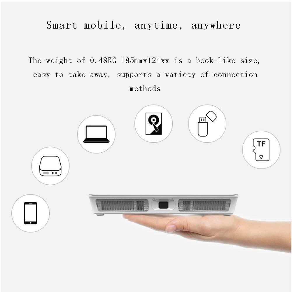 Mini proyector WiFi, proyector de Cine en casa con límite ...