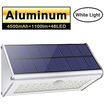 Solar Powered Motion Sensor Light Outdoor 56 Led Security