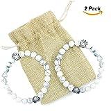 Pet Dog Cat Memorial Bracelet Gift 22 Agate - Best Reviews Guide