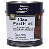 DEFT/PPG ARCHITECTURAL FIN DFT011/01 Gallon Clear Semi Gloss Wood Finish by DEFT/PPG ARCHITECTURAL FIN
