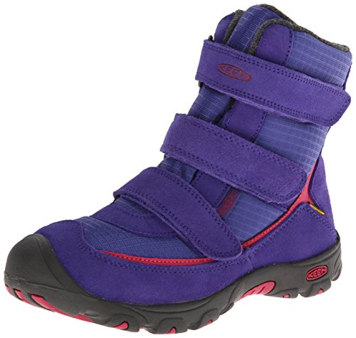 Picture of KEEN Trezzo WP Youth Snow Boot (Little Kid/Big Kid),Orient Blue/Cerise,1 M US Little Kid