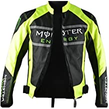 Ilishop Men's Fashion Polyester Racing Motorcycle Coat Cycling Jacket