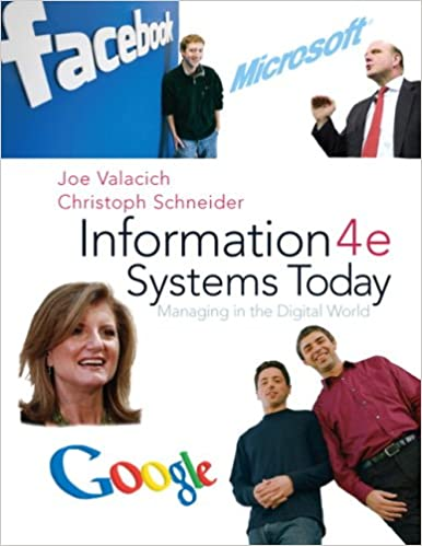 Amazon information systems today managing the digital world information systems today managing the digital world 4th edition 4th edition fandeluxe Choice Image