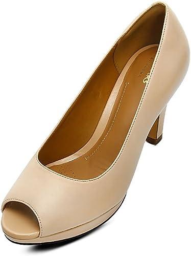 Ladies Clarks Peep Toe Smart Shoes