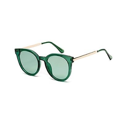 JJYJ Vintage Cristal Metal Frame Gafas De Sol Mujeres ...