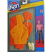 Barbie KEN FASHION CLASSICS Fashions w BEACH or BOATING OUTFIT & Accessories (1982 Mattel Hawthorne)