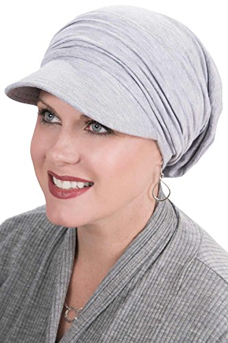 d7190048 Cardani Bamboo Slouchy Newsboy Hat | Slouch Snood Chemo Hats for Cancer  Patients Luxury Bamboo -