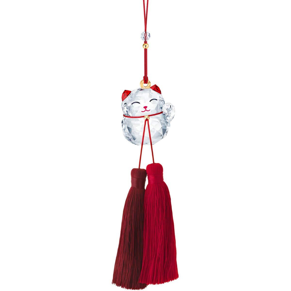 SWAROVSKI Lucky Cat Ornament, Clear by SWAROVSKI