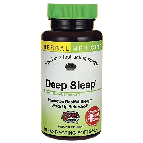 Herbs Etc, Deep Sleep, 60 Softgels (Best Sleep Aid Medicine)