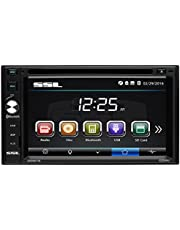 Sound Storm Labs DD661B Double Din, Touchscreen, Bluetooth, DVD/CD/MP3/USB/SD AM/FM Car Stereo, 6.2 Inch Digital LCD Monitor, Wireless Remote