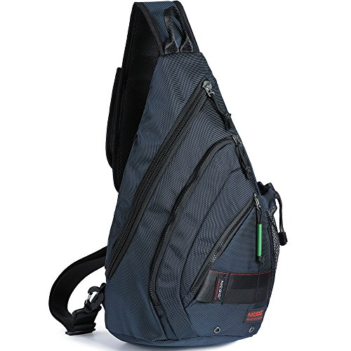Shoulder Bag Backpack Cross - Sling Bag Backpack, Chest Crossbody Bags Sling Shoulder Backpacks One Strap Multipurpose Daypack Laptops Travel Outdoors Backpack for Men Women Teens