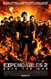 Lionsgate San Diego Comic Convention Exclusive Expendables 2 Double Sided Theatrical Movie Poster 24 x 37 Rolled